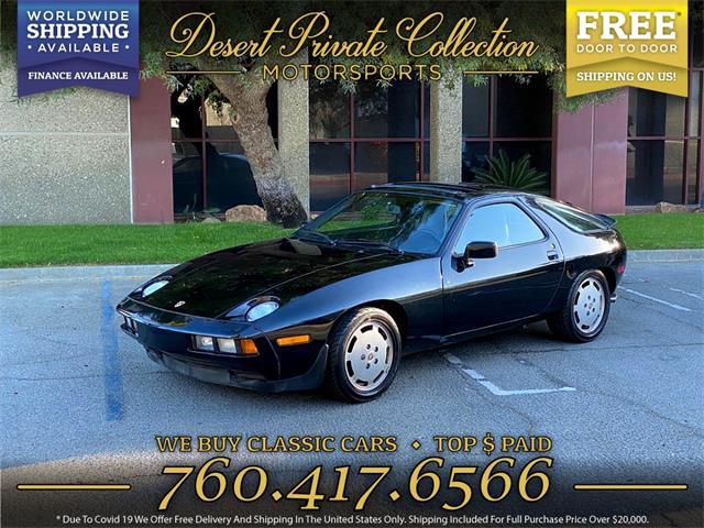 1986 Porsche 928S (CC-1457288) for sale in Palm Desert , California