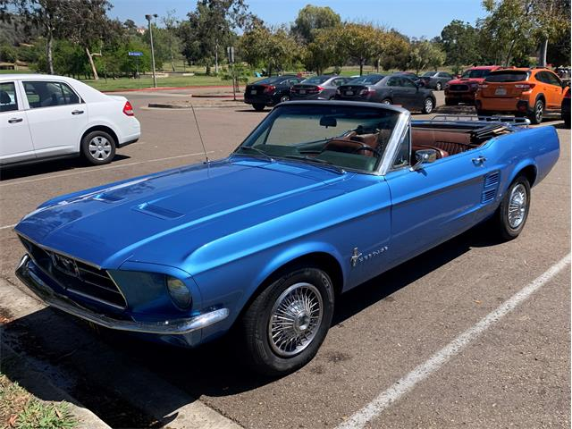1967 Ford Mustang (CC-1457397) for sale in San Diego, California