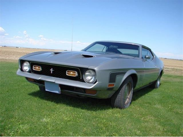 1972 Ford Mustang (CC-1457576) for sale in Cadillac, Michigan