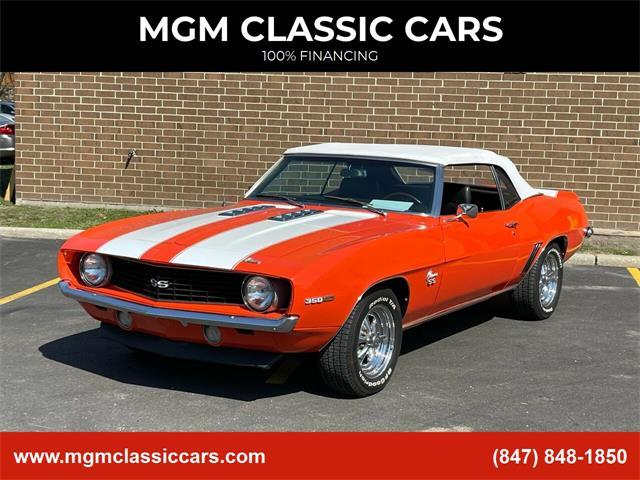 1969 Chevrolet Camaro (CC-1457822) for sale in Addison, Illinois