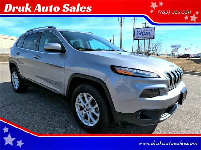 2018 Jeep Cherokee (CC-1457888) for sale in Ramsey, Minnesota