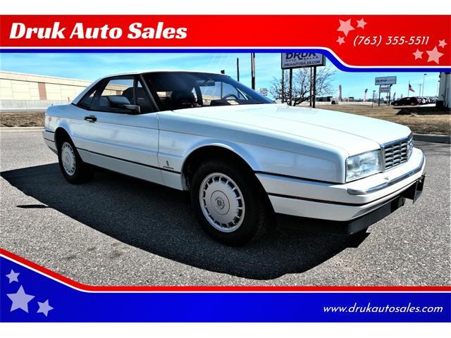 1988 Cadillac Allante (CC-1457892) for sale in Ramsey, Minnesota