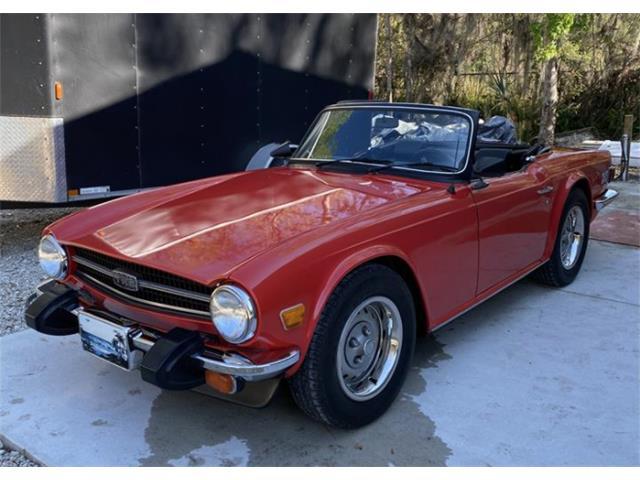 1976 Triumph TR6 (CC-1458015) for sale in St Augustine, Florida