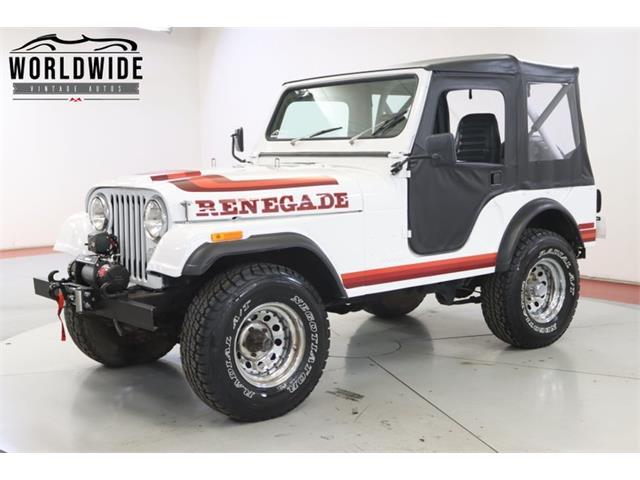1976 Jeep CJ (CC-1458023) for sale in Denver , Colorado