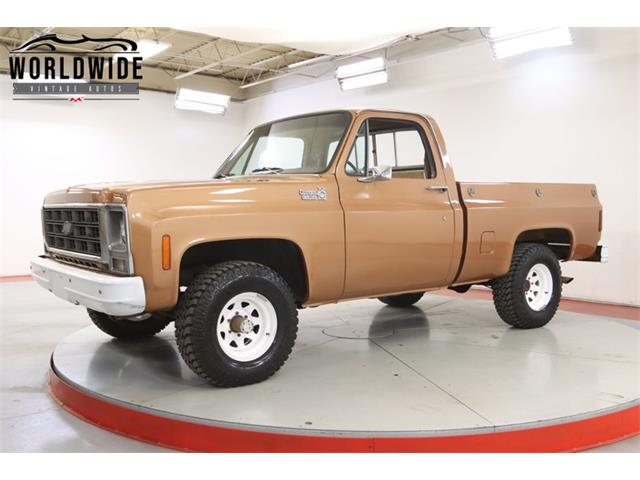 1979 Chevrolet K-10 (CC-1458027) for sale in Denver , Colorado