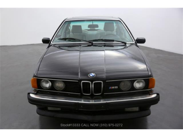 1987 BMW M6 (CC-1458045) for sale in Beverly Hills, California