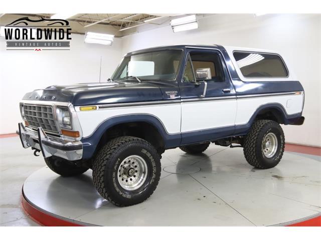 1978 Ford Bronco (CC-1458121) for sale in Denver , Colorado