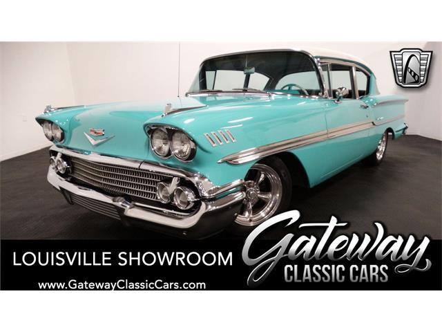 1958 Chevrolet Biscayne (CC-1458185) for sale in O'Fallon, Illinois
