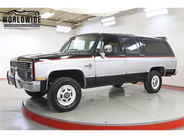 1984 Chevrolet Suburban (CC-1458539) for sale in Denver , Colorado