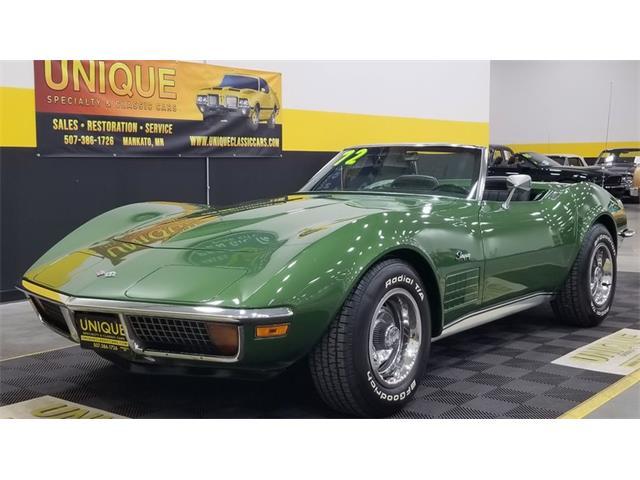 1972 Chevrolet Corvette (CC-1458554) for sale in Mankato, Minnesota