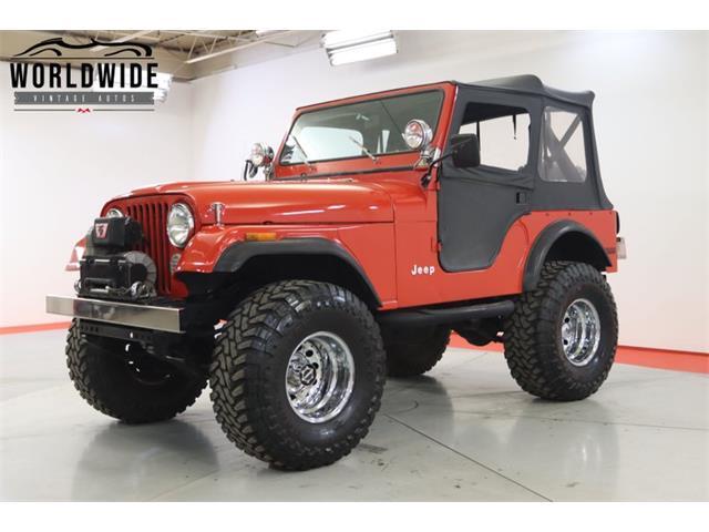 1978 Jeep CJ (CC-1458559) for sale in Denver , Colorado