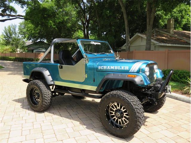1981 Jeep CJ8 Scrambler (CC-1458615) for sale in Lakeland, Florida