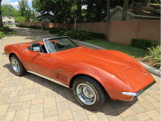 1970 Chevrolet Corvette (CC-1458622) for sale in Lakeland, Florida