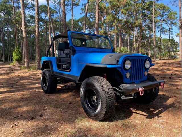 1986 Jeep CJ (CC-1458667) for sale in Delray Beach, Florida