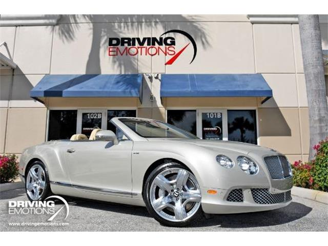 2013 Bentley Continental GTC Mulliner (CC-1458817) for sale in West Palm Beach, Florida