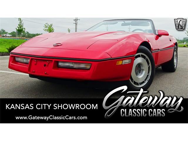 1987 Chevrolet Corvette (CC-1450884) for sale in O'Fallon, Illinois