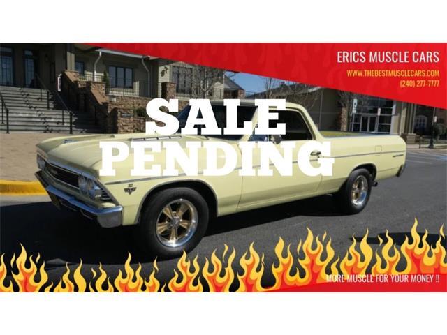 1966 Chevrolet El Camino (CC-1458928) for sale in Clarksburg, Maryland