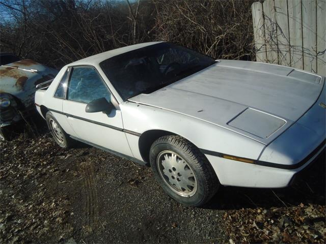 1984 Pontiac Fiero (CC-1458932) for sale in Jackson, Michigan