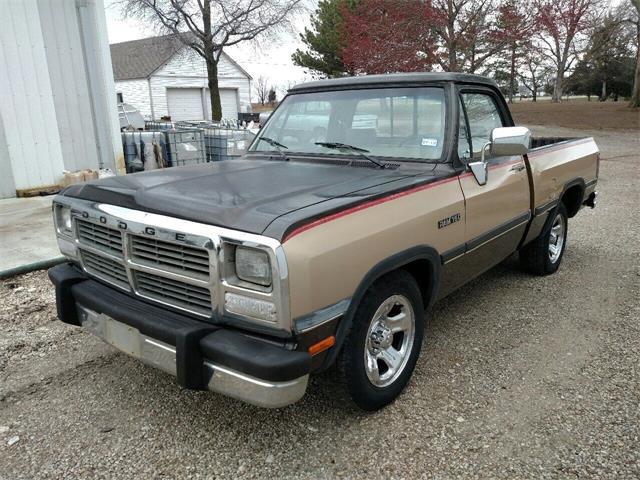 1991 Dodge D150 (CC-1459038) for sale in Burlington, Kansas