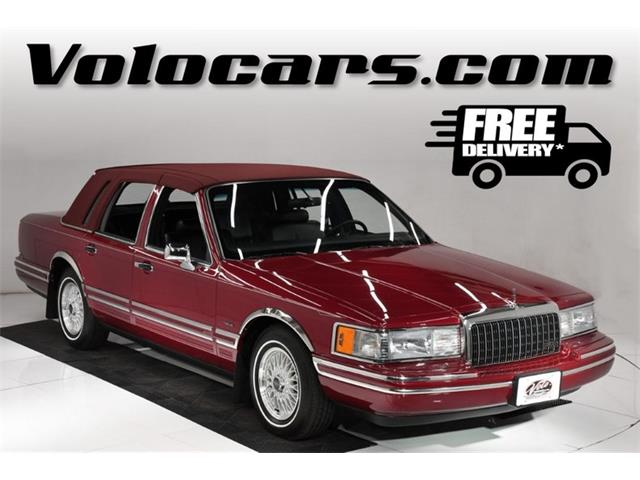 1993 Lincoln Town Car (CC-1459150) for sale in Volo, Illinois