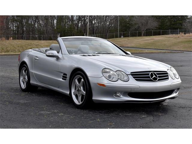 2003 Mercedes-Benz SL500 (CC-1459192) for sale in Greensboro, North Carolina
