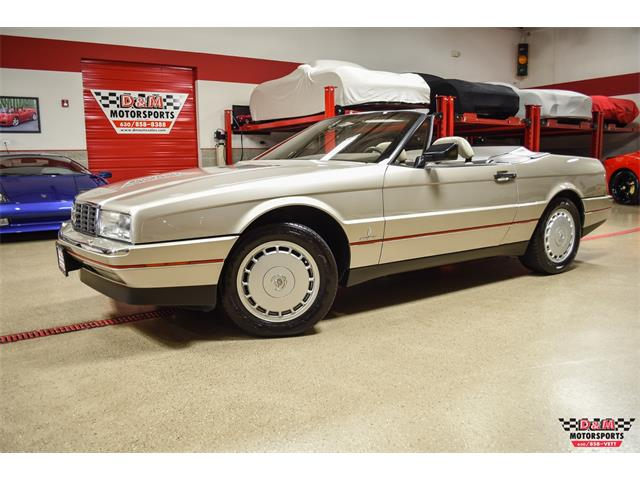 1991 Cadillac Allante (CC-1459299) for sale in Glen Ellyn, Illinois