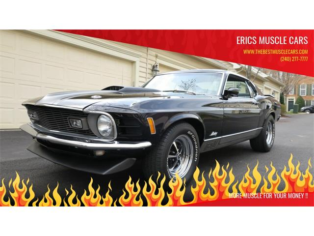 1970 Ford Mustang Mach 1 (CC-1459300) for sale in Clarksburg, Maryland