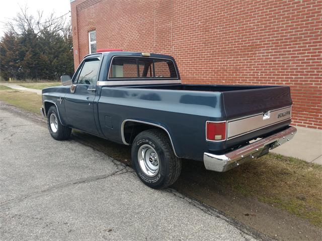 1986 Chevrolet 1/2-Ton Shortbox (CC-1459444) for sale in BENTON, Kansas