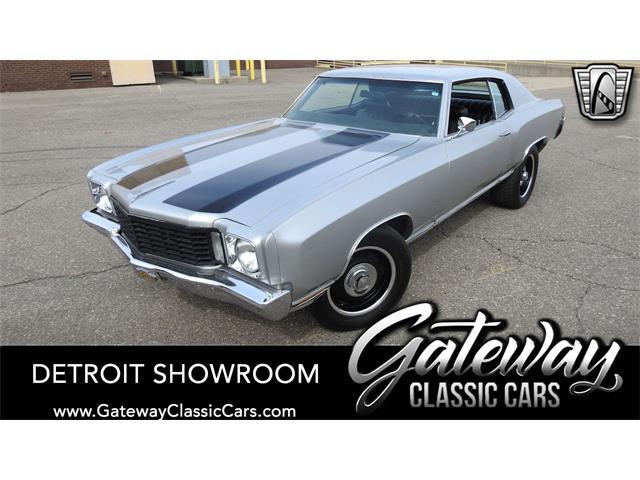1972 Chevrolet Monte Carlo (CC-1459503) for sale in O'Fallon, Illinois