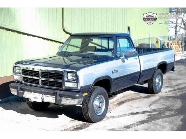 1991 Dodge W250 (CC-1459651) for sale in Milford, Michigan