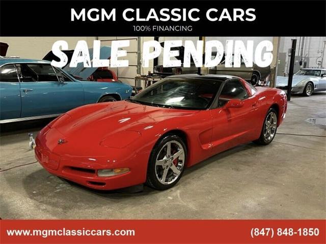 2001 Chevrolet Corvette (CC-1459655) for sale in Addison, Illinois