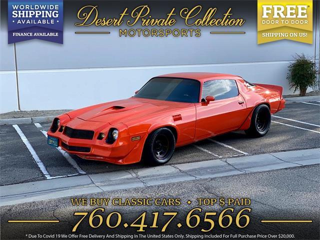 1981 Chevrolet Camaro (CC-1459758) for sale in Palm Desert , California