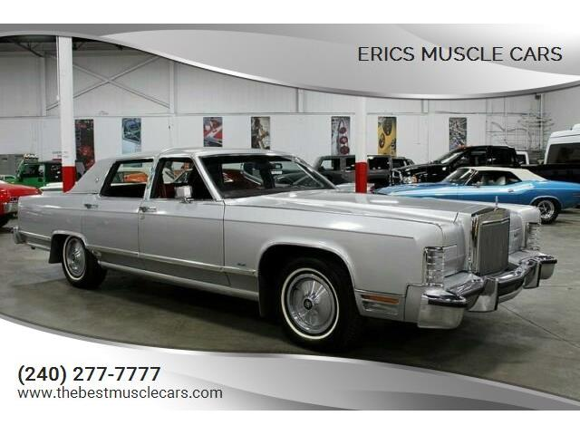 1984 Lincoln Town Car (CC-1459763) for sale in Clarksburg, Maryland
