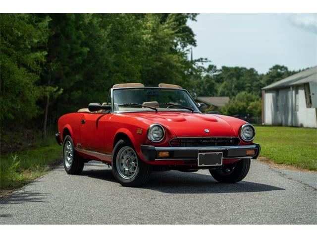 1984 Fiat 2000 Spider (CC-1459771) for sale in Hickory, North Carolina