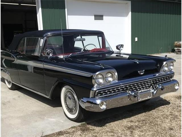 1959 Ford Convertible (CC-1459829) for sale in Plainfield , Wisconsin