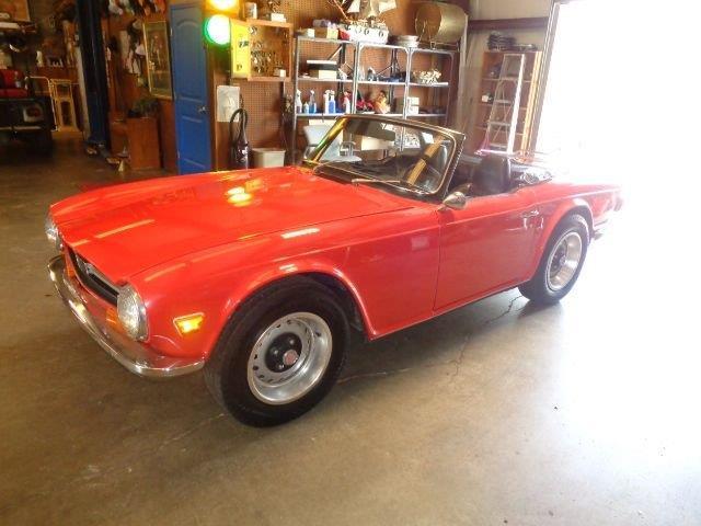 1972 Triumph TR6 (CC-1459913) for sale in Greensboro, North Carolina