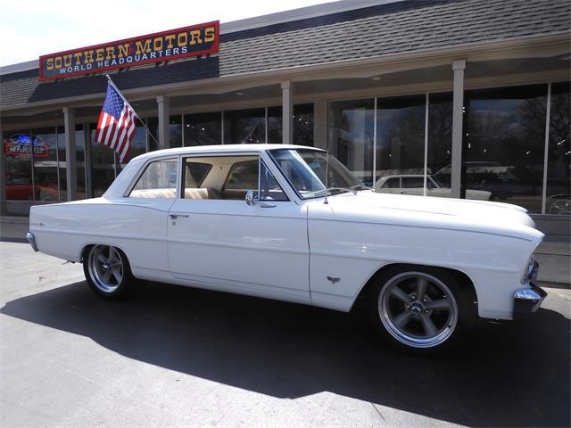 1966 Chevrolet Nova (CC-1461297) for sale in CLARKSTON, Michigan