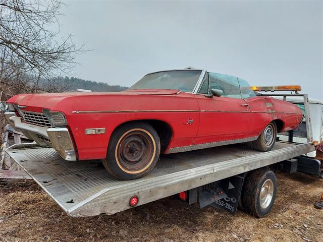 1968 Chevrolet Caprice (CC-1460135) for sale in Woodstock, Connecticut