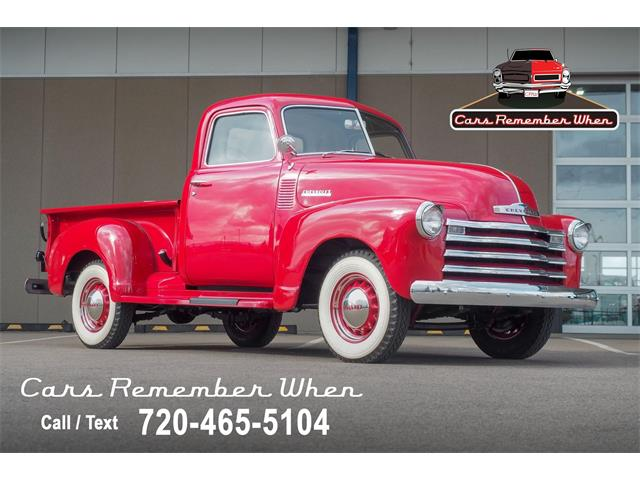 1948 Chevrolet 3100 (CC-1461459) for sale in Englewood, Colorado