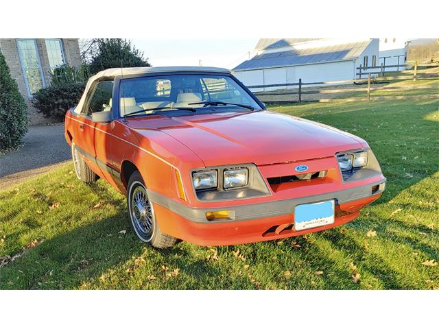 1986 Ford Mustang (CC-1461725) for sale in Carlisle, Pennsylvania