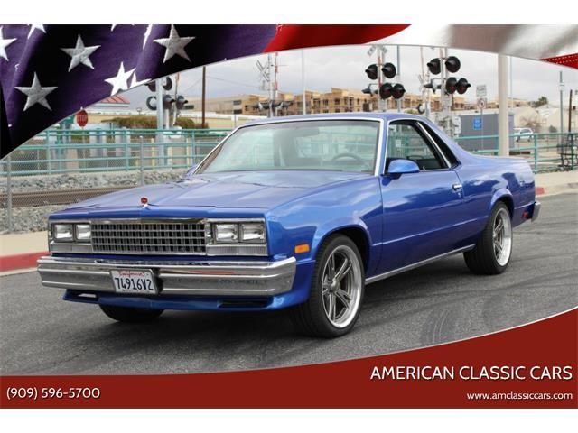 1987 Chevrolet El Camino (CC-1461878) for sale in La Verne, California