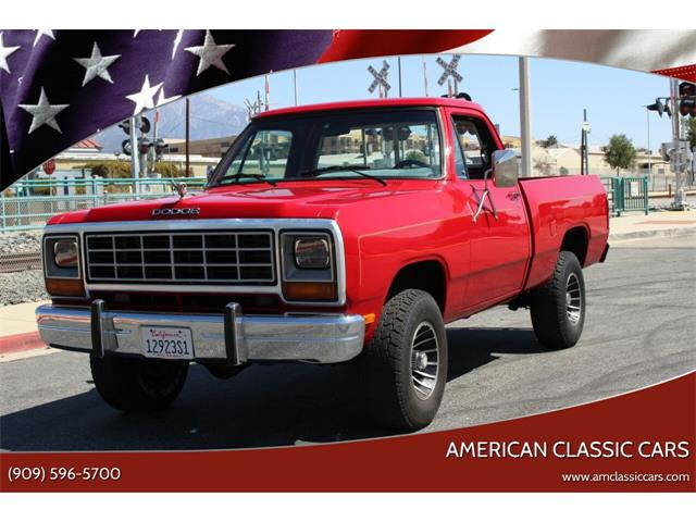 1984 Dodge Ram (CC-1461881) for sale in La Verne, California