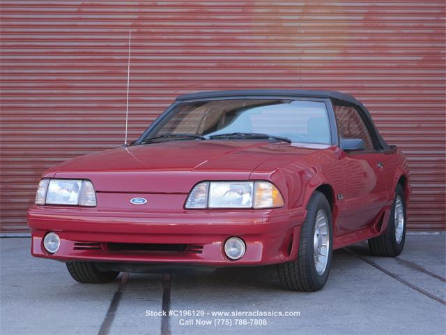 1987 Ford Mustang (CC-1461939) for sale in Reno, Nevada
