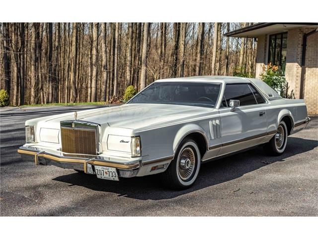 1979 Lincoln Continental Mark V (CC-1461970) for sale in Lutherville, Maryland