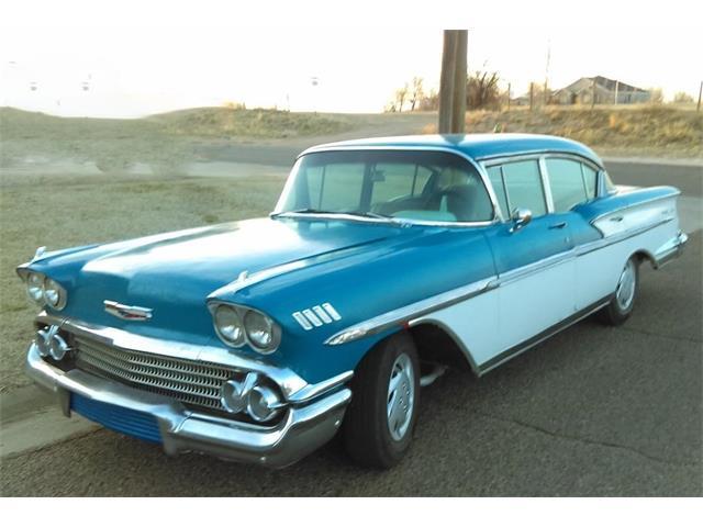 1958 Chevrolet Bel Air (CC-1462044) for sale in Guymon, Oklahoma
