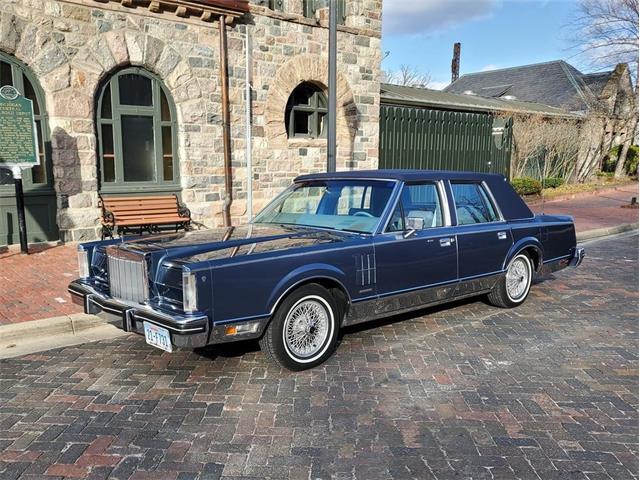 1983 Lincoln Continental Mark VI (CC-1462069) for sale in Northville, Michigan