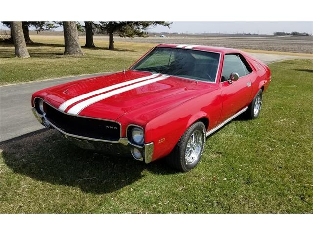 1968 AMC AMX (CC-1462204) for sale in Lake Crystal, Minnesota