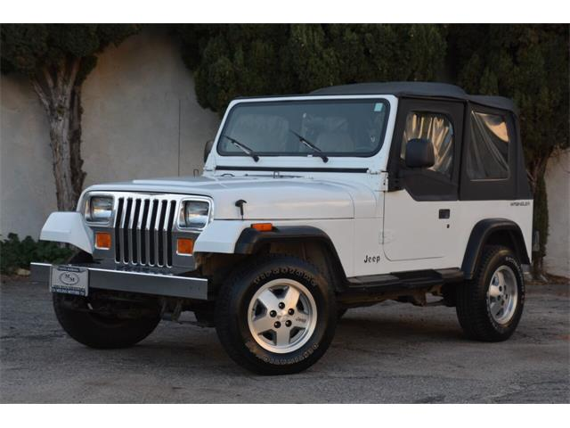 1992 Jeep Wrangler (CC-1462207) for sale in Santa Barbara, California