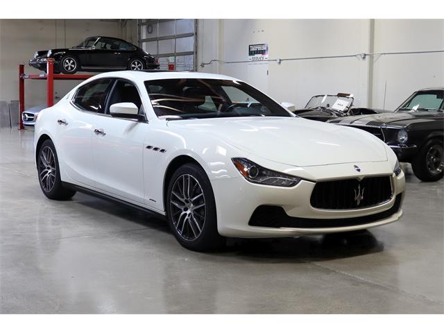 2017 Maserati Ghibli (CC-1462218) for sale in San Carlos, California