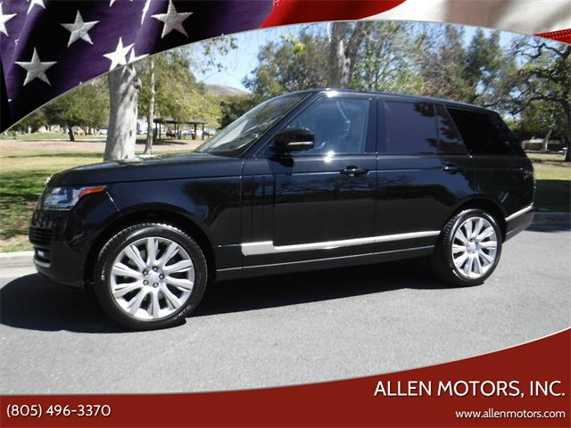 2017 Land Rover Range Rover (CC-1460232) for sale in Thousand Oaks, California